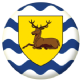 Hertfordshire County Flag 58mm Fridge Magnet
